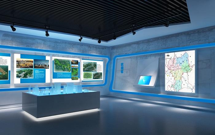 城市规划馆设计效果图图集展示-特发国际
